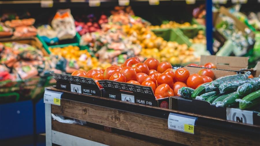 Boodschappen supermarkt