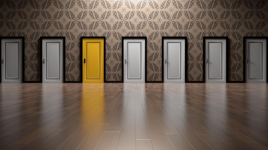Welke deur kies jij?