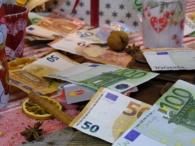 Feestdagen geld