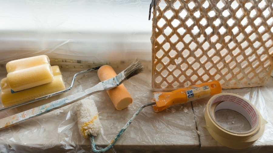Verbouwing schilderen