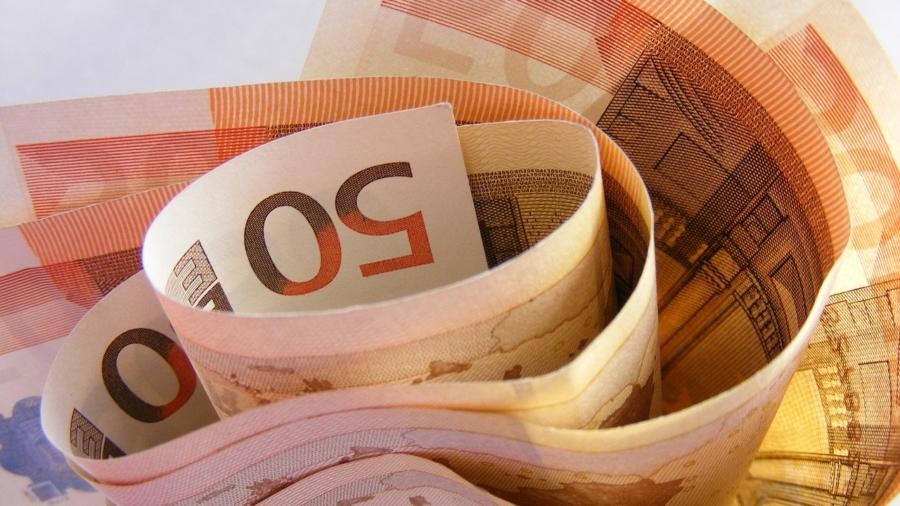 Geld roos euro