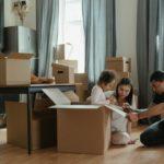 Familie verhuizen